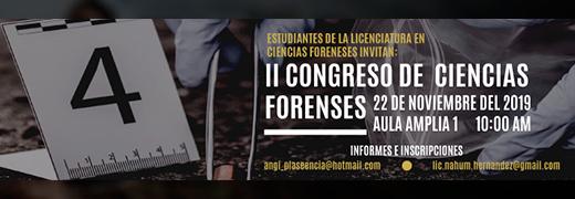 CONGRESO ESTUDIANTIL DE CIENCIAS FORENSES