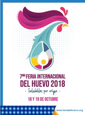 """ma Feria Internacional del Huevo 2018 """"Saludables por origen"""""""