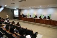 El viernes 22 de febrero, se dieron cita en el Centro Universitario de Tonalá especialistas y estudiantes de la primera y segunda generación de la Lic. en Ciencias Forenses para dialogar sobre las diferentes disciplinas de las Ciencias Forenses.