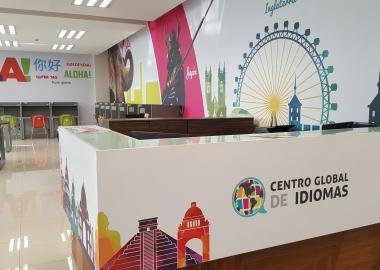 Recepción Centro Global de Idiomas