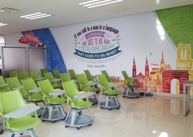 Aula centro global de idiomas