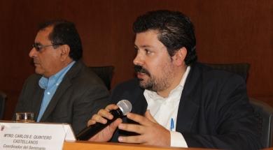 En la inauguración del seminario de otoño de políticas públicas