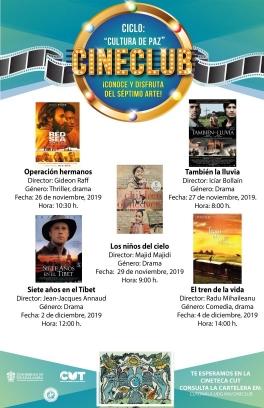 "Ciclo: ""Cultura de Paz"""