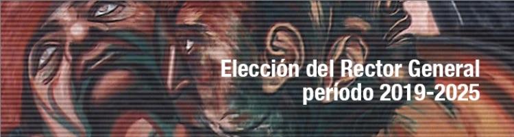 Elección del Rector General, periodo 2019-2015