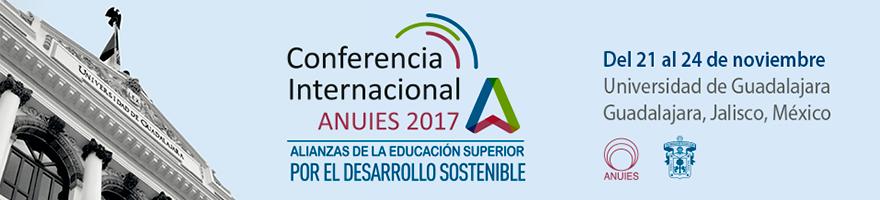 Enlace a la página de la conferencia internacional ANUIES 2017