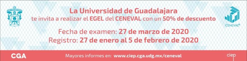 examen ceneval, fechas de registro del 27 de enero al 05 de febrero.