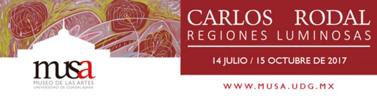 Exposición Regiones Luminosas por Carlos Rodal, hasta el 15 de octubre en el MUSA