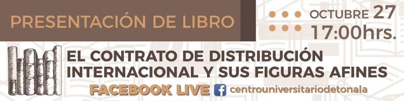 Presentación del Libro El Contrato de distribución internacional y sus figuras afines