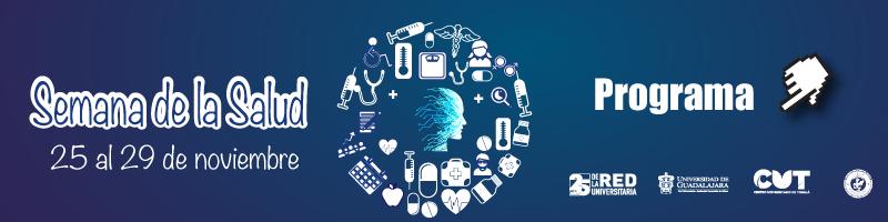 Semana de la salud del 25 al 29 de noviembre, consulta el programa