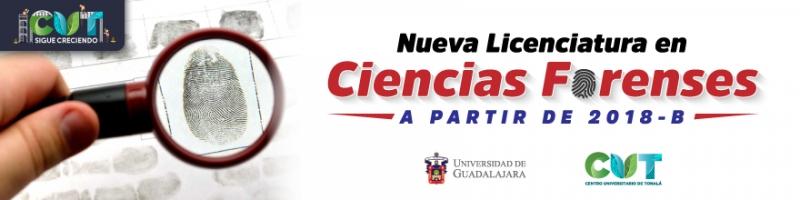 ¡Ahora en el CUT hay una Licenciatura en Ciencias Forenses! Hoy se aprobó en el Consejo General Universitario, se podrán hacer trámites a partir del calendario 2018-B