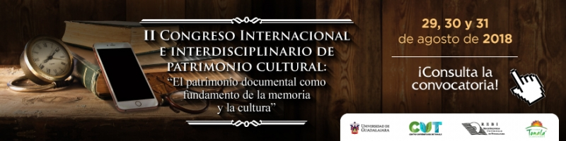 Segundo congreso internacional e interdisciplinario de patrimonio cultural