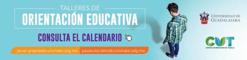 Enlace al calendario de los Talleres de Orientación Educativa CUT