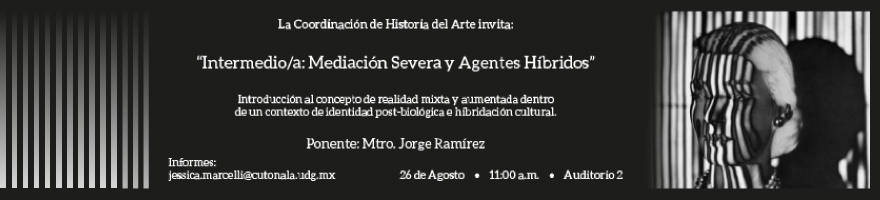 """Conferencia: """"Intermedio/a: Mediación Severa y Agentes Híbridos"""""""