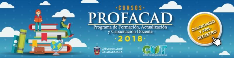 Cursos profacad 2018