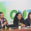 En conferencia con académicos del CUT